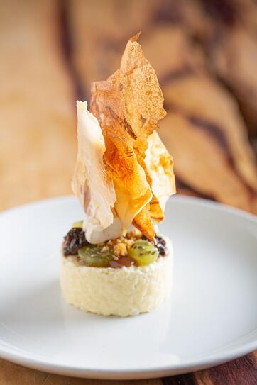 Andrew Sheridan macadamia apple rice pudding IMG_0091