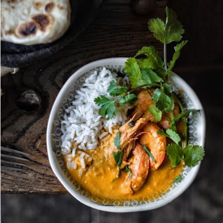 Macadamia Prawn Curry