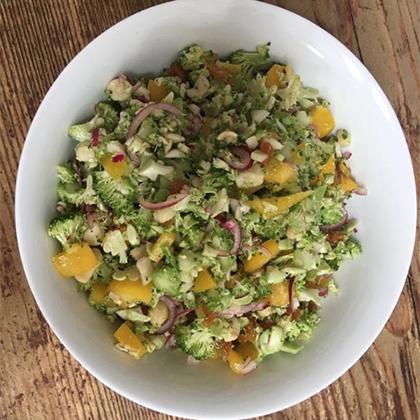 Macadamia & Broccoli Salad